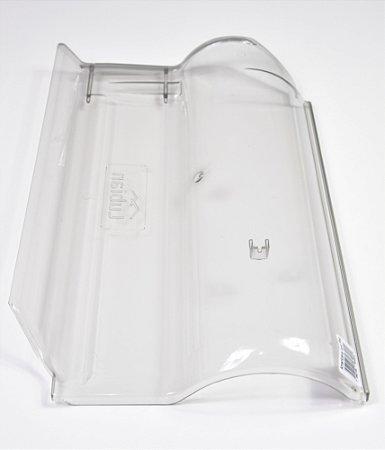 Kit 10 Telha Transparente Americana Piso-Esmaltada-Tettogres-Teracota