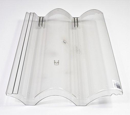 Kit 20 Telhas Transparente Coppo Veneto / EUROTOP / Decorlite Injetada