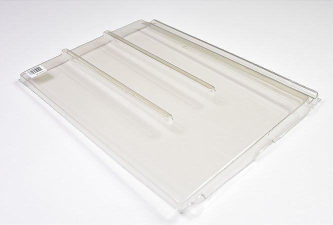 Kit 10 Telhas Transparente pet PLANA