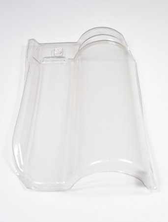 Kit 10 Telhas Transparente pet Americana G 44x27