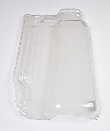 Kit 10 Telhas Transparente pet Romana R-14
