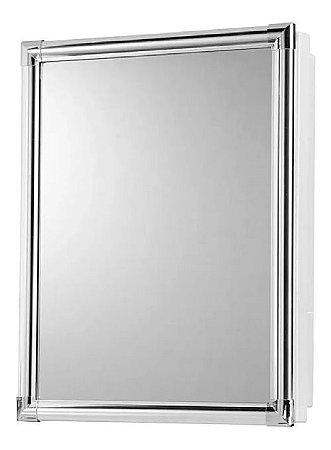 Armário com Espelho Alumínio Versátil 36x45cm Al43Cz Astra