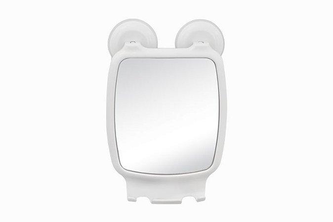 Espelho Para Box Com Ventosa Branco (av/esp) Astra