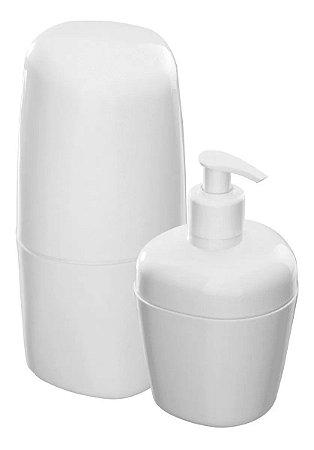 Kit Acessórios Para Banheiro Kbb1/2 Branco - Astra