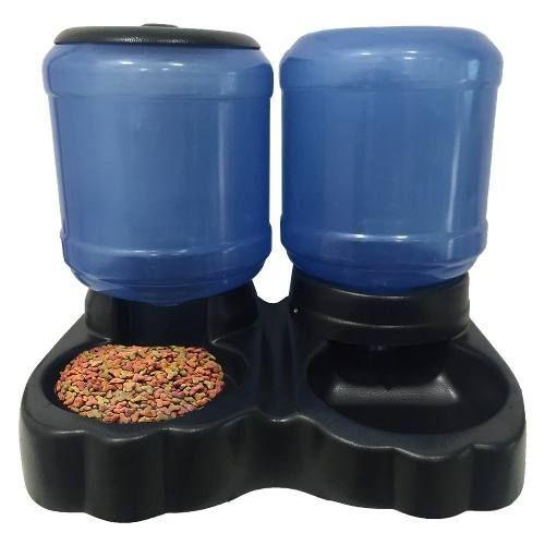 Comedouro E Bebedouro Automático Duplo 10l/4,0kg