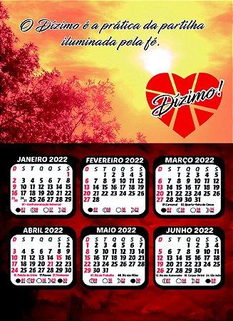 Calendário do Dízimo 2022