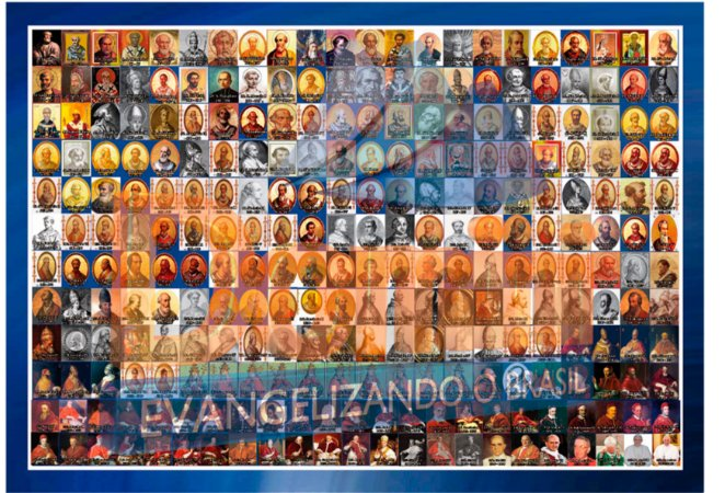 Cartaz para quadro Todos os Papas