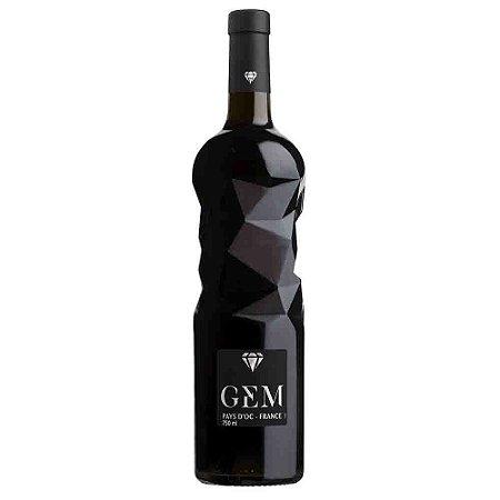 Vinho Tinto Francês Gem Pays D'OC Rouge 750 ml