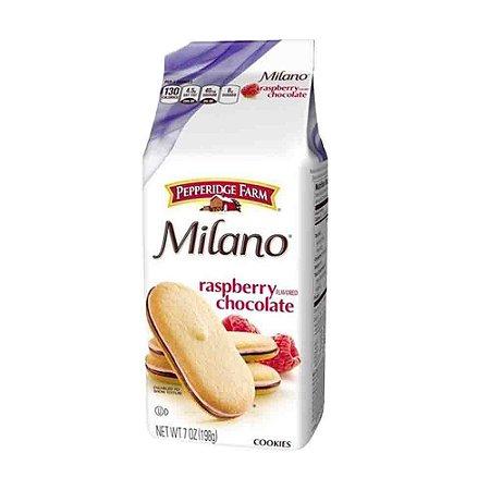 Biscoito Milano Baunilha C/ Chocolate e Framboesa 198 G