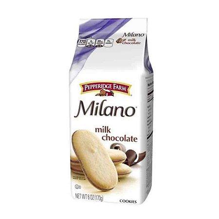 Biscoito Milano Baunilha C/ Recheio Chocolate Ao Leite 170G
