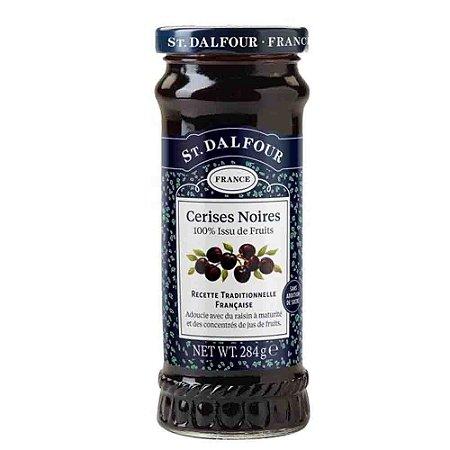 Geleia Francesa St Dalfour Cereja Cerises Noires 284 G