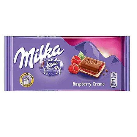 Chocolate Milka Raspberry Framboesa 100g Importado