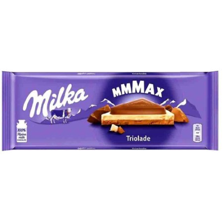 Chocolate Milka Triolade 280 gr Importado Europa