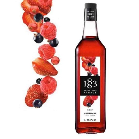 Xarope Routin 1883 De Granadine Frutas Vermelhas 1L