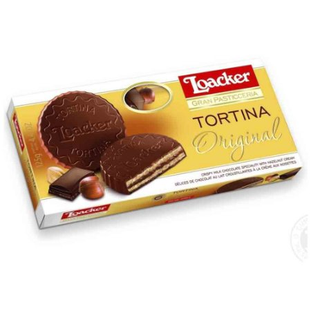 Biscoito Loacker Gran Pasticceria Tortina Original 63g