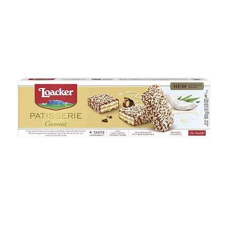 Biscoito Loacker Gran Pasticceria Coconut 100g
