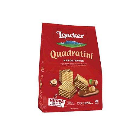 Biscoito Waffer Loacker Quadratini Napolitaner (avelã) 125g