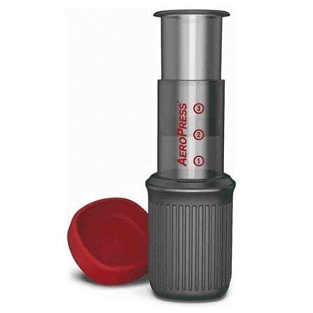 Cafeteira Aeropress Go Original + 350 Filtros Importado USA