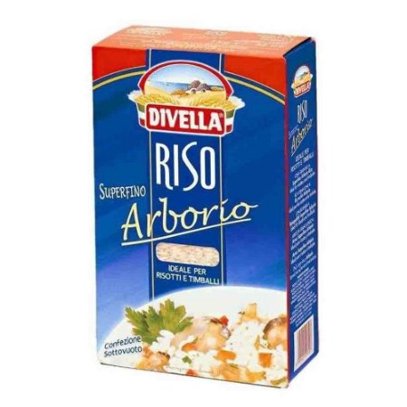 Arroz Arbório Italiano Divella 1kg Para Risoto Original