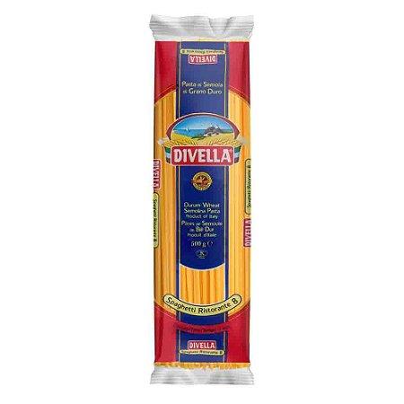 Macarrão Italiano Divella Spaghetti Grano Duro 500g Original