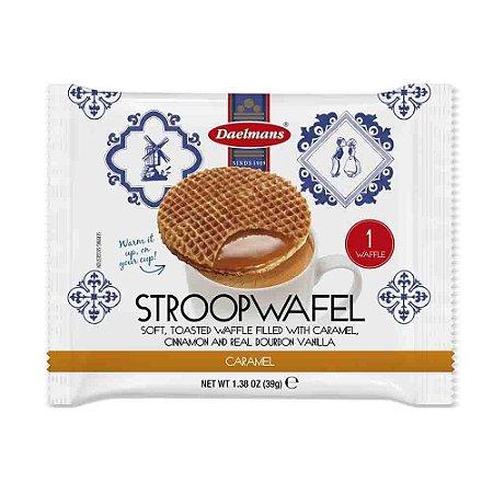 Waffles Stroopwafel Individual Caramelo 39g Holanda