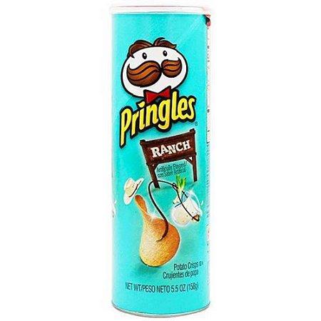 Batata Chips Pringles Ranch Creme Temperado importada 158g