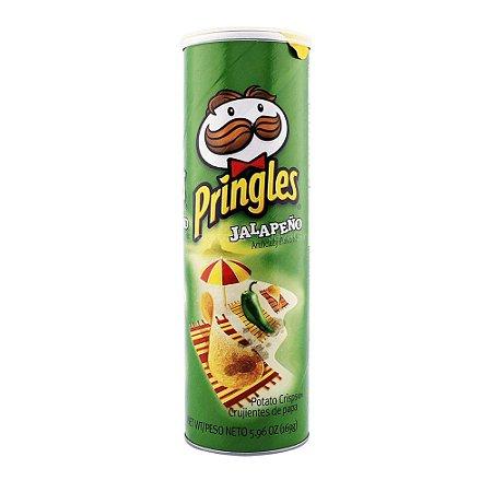 Batata Chips Pringles Jalapeno Mexicana Importada 158g