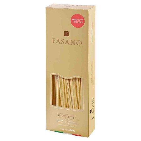 Macarrão Massa Italiano Fasano Spaghetti 500G