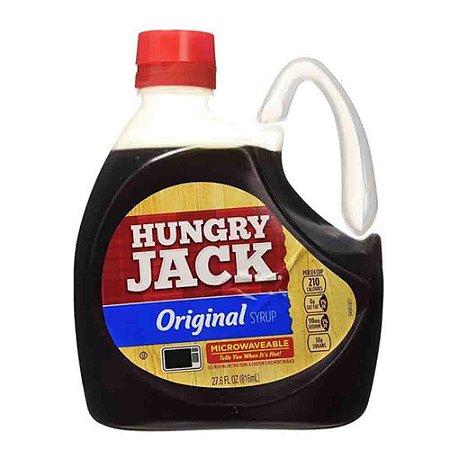 Calda Para Panqueca Hungry Jack Syrup Galão 816ml Original