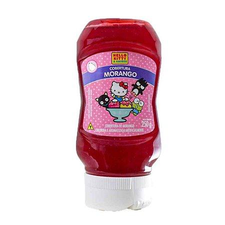 Cobertura Sorvete de Morango Sakura Hello Kitty 250g