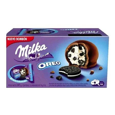 Bombom Chocolate Milka Oreo Importado Alemanha 247g