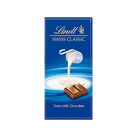 Chocolate Lindt Milk Ao Leite Swiss Classic 100 g