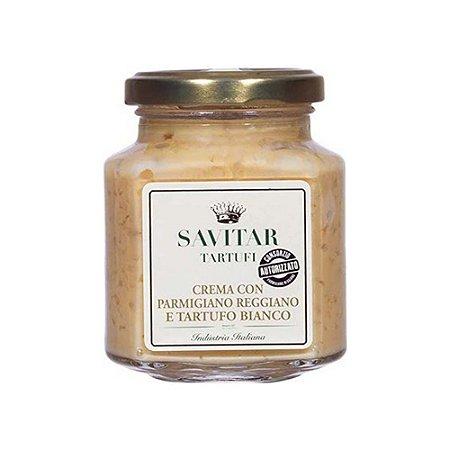 Creme De Parmesao Com Trufas Branca Savitar 180 Gr