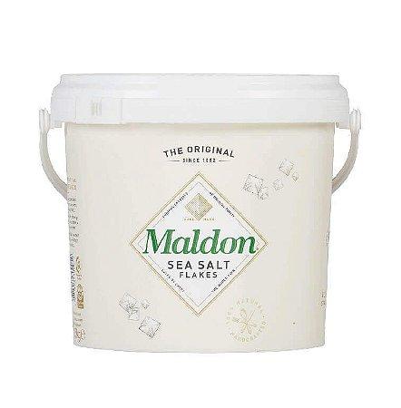 Sal Maldon Em Floco Importado Inglaterra 1,4 kgs