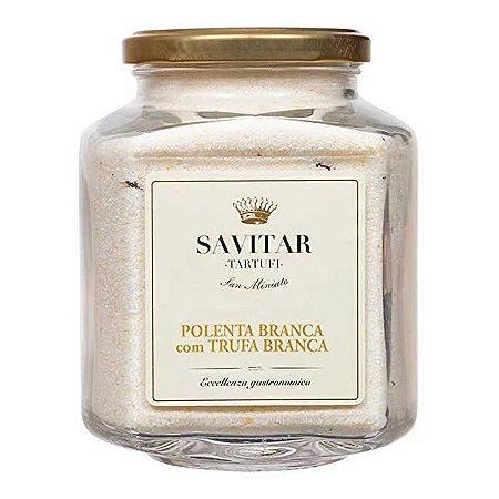 Polenta Branca com Trufa Branca Savitar 450 gr