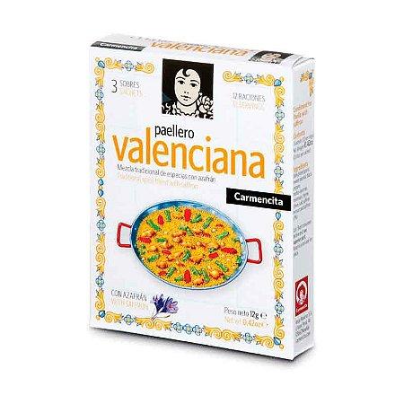 Tempero Espanhol Paellero Carmencita Valenciana 12g Paella