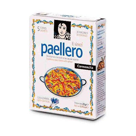 Tempero Espanhol Paellero Carmencita Tradicional 20g Paella