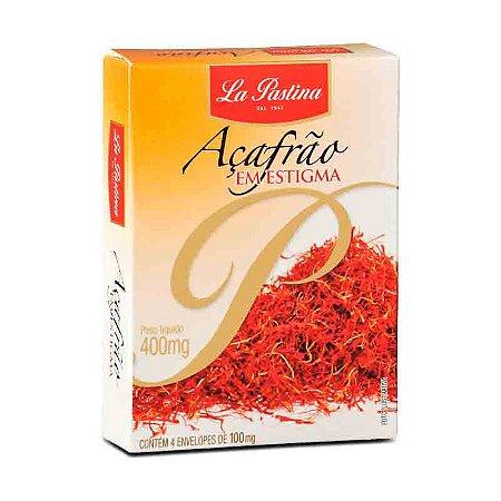 Açafrão Espanhol Verdadeiro Estigmas La Pastina Paella 0,4g