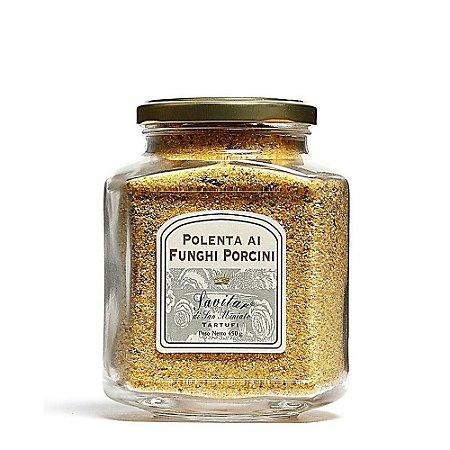Polenta Amarela Com Cogumelo Funghi Porcini Savitar 450 Gr