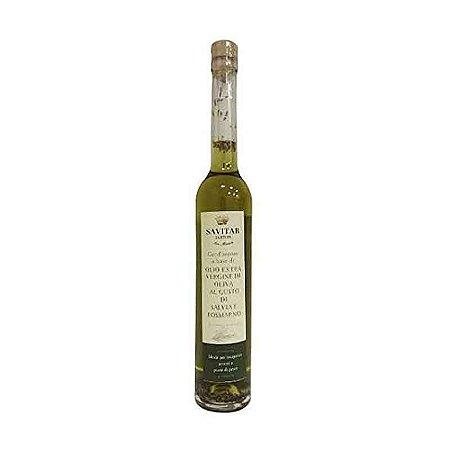 Azeite Virgem De Oliva Com Salvia E Alecrim Savitar 100 Ml