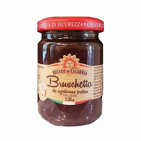 Bruschetta azeitona preta Italiana Delizie Di Calabria 135 gr