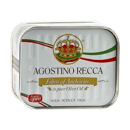 File Anchova Alici Italiano Agostino Recca em Azeite 710 gr