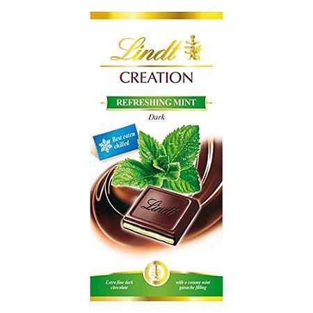 Chocolate Lindt Creation Mint Menta 150 gr   *Lançamento*