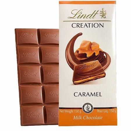 Chocolate Lindt Creation Caramel 150 gr  **Lançamento**