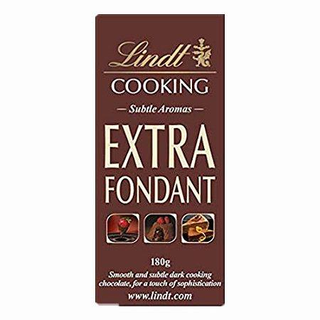 Chocolate Lindt Cooking Extra Fondant Cacau 51% Amargo 180 g
