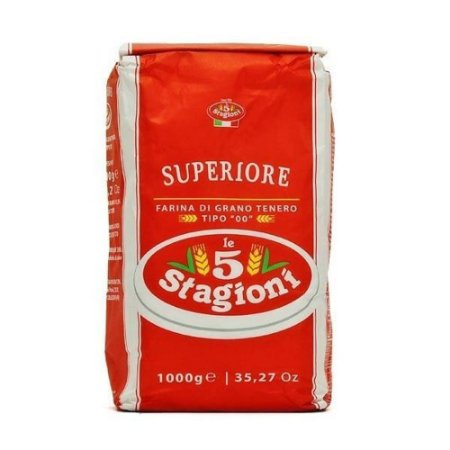 Farinha De Trigo Italiana 00 Le 5 Stagioni Superiore 1kg