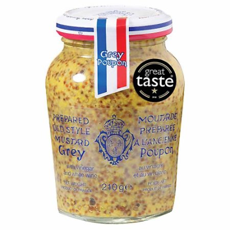 Mostarda Grey Poupon a Lancienne Old Style Francesa 215g