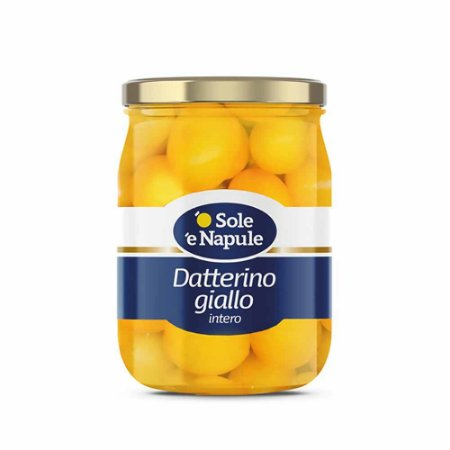 Tomate Amarelo Datterino Inteiro Giallo Importado Italia 360