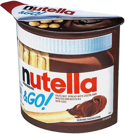 Biscoito Nutella & GO 52 g Importado Alemanha