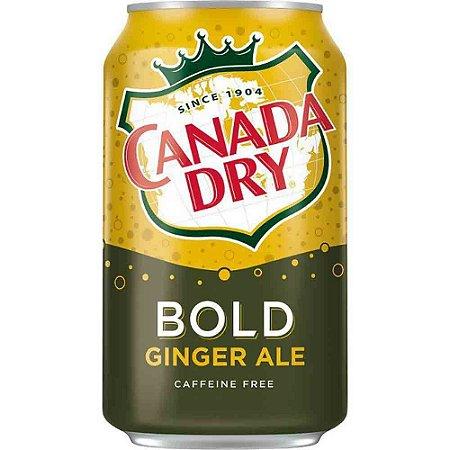 Refrigerante Canada Bold Ginger Ale 355ml - Importado Eua